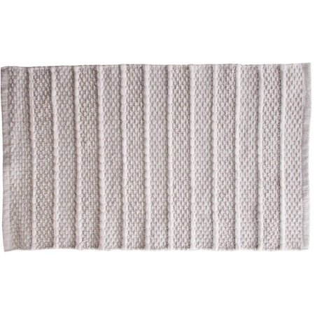 Better Homes and Gardens Neutral Stripe Natural Eco Accent Rug, 20