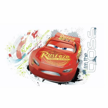 - Cars 3 Lightning Mcqueen Peel And Stick Wall Graphic