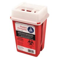 Dynarex M949 1/4 Gal. Sharps Container, Sliding Lid