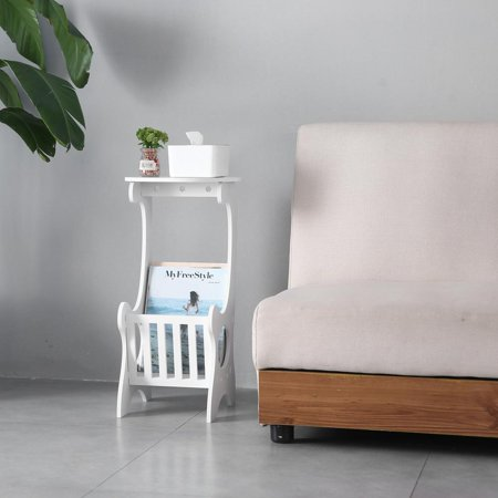 Ktaxon Sofa Side End Table, End Stand Desk Coffee Tray Side Table,Tablet Beside Bed Sofa Portable Workstation, Over Bed