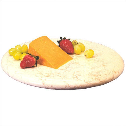 Creative Home Champagne Marble 12 in. Lazy Susan