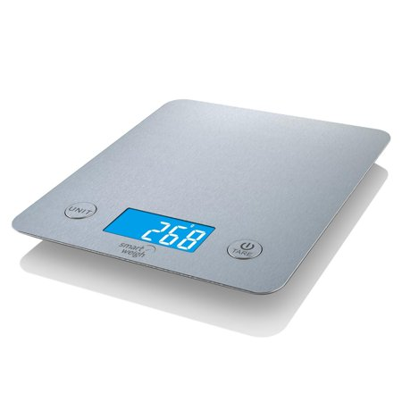 smart weigh kitchen digital food scale bake diet stainless steel 11lbs
