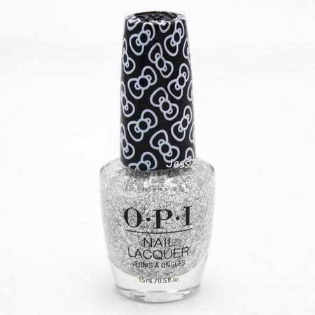 OPI Nail Polish 2019 Hello Kitty Holiday Collection HR L01 Glitter To My Heart 0.5 (Best Glitter Nail Polish Uk)