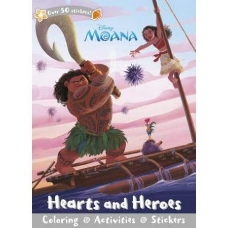 Disney Moana  Hearts And Heroes