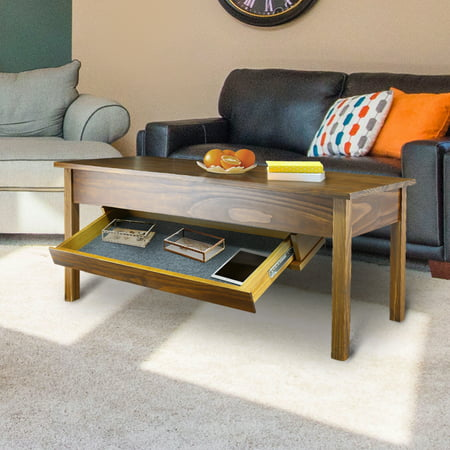 Kennedy Coffee Table With Concealed Drawer Concealment Furniture