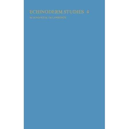 Echinoderm Studies 4 (1993)
