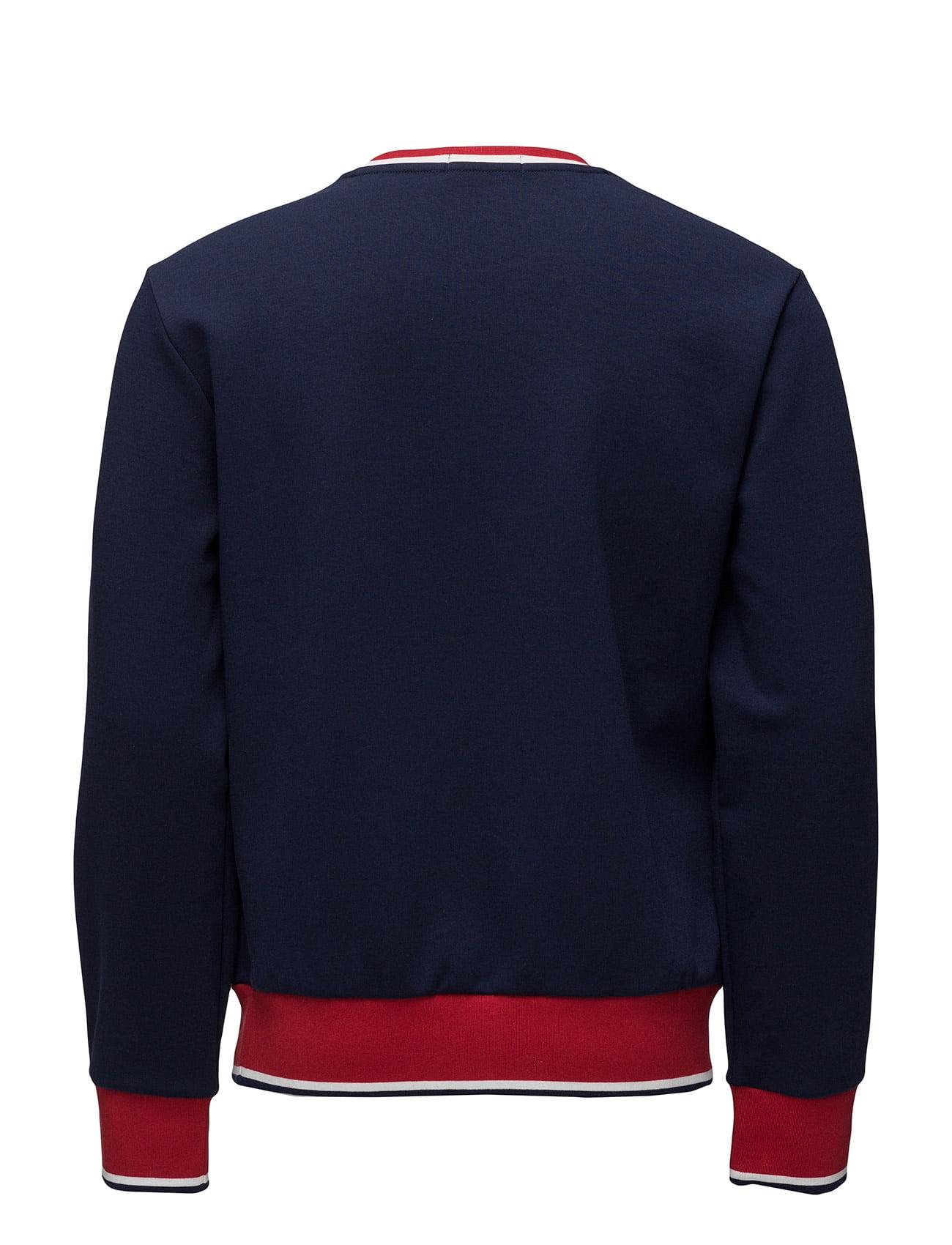 Polo Ralph Lauren Double-Knit Graphic Sweatshirt