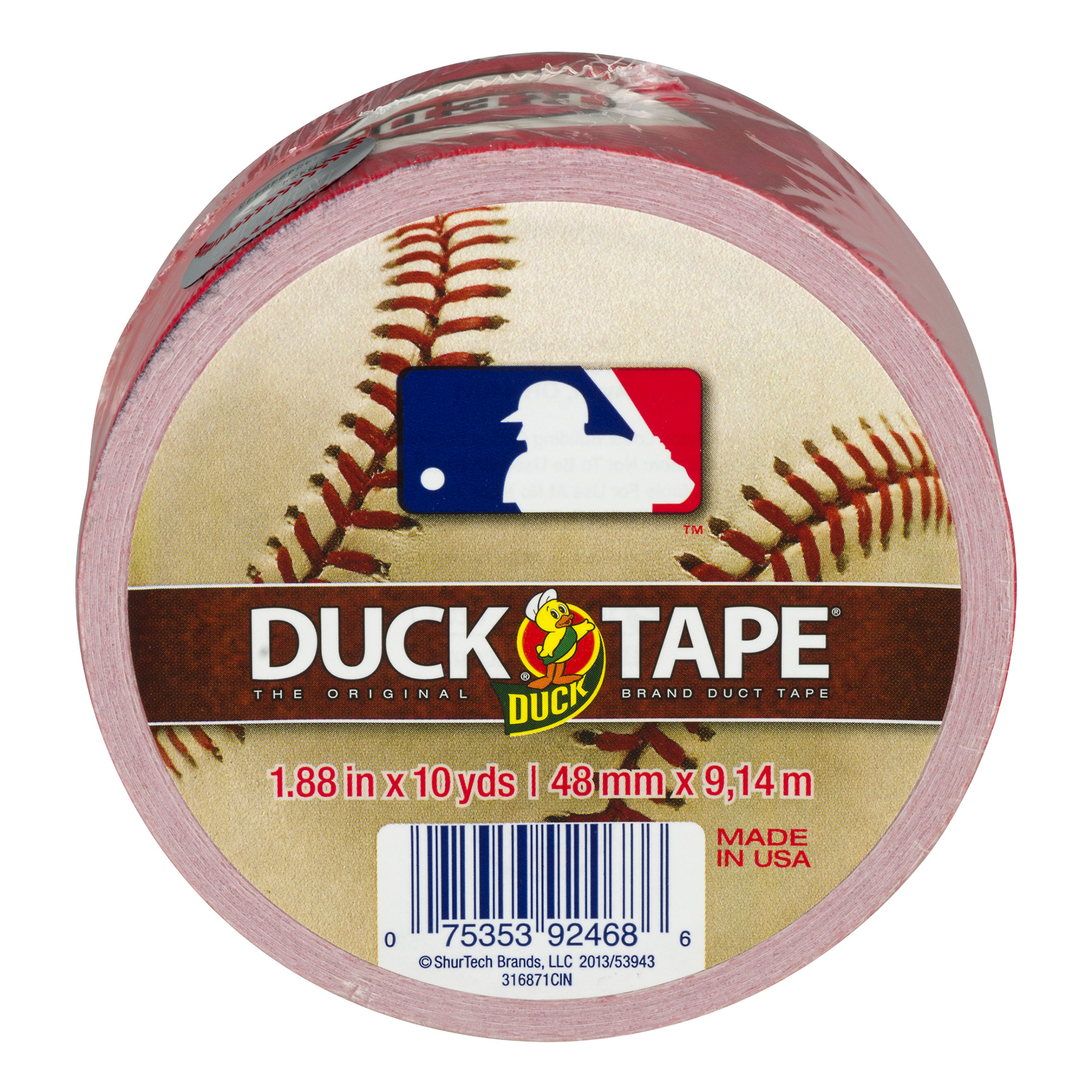Duck Tape Reds - 10 YARDS, 10.0 YARDS