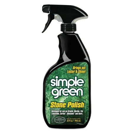 Simple Green Streak-Free Stone Polish, Unscented, 32oz -