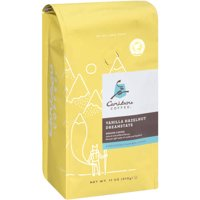 Caribou Coffee Vanilla Hazelnut Dreamstate Ground Coffee, 11 oz
