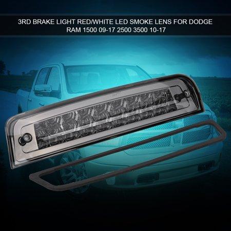 Yosoo Car 3rd Brake Light LED for Dodge Ram 1500 09-17 2500 3500 10-17 55372082AC Chrome&Smoke,Rear Tail Lamp,3rd Brake Lamp - image 5 de 8