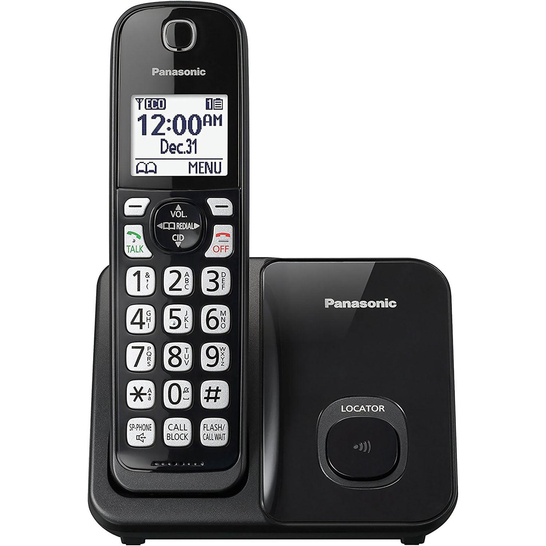 Panasonic Expandable Cordless Phone with Call Block
