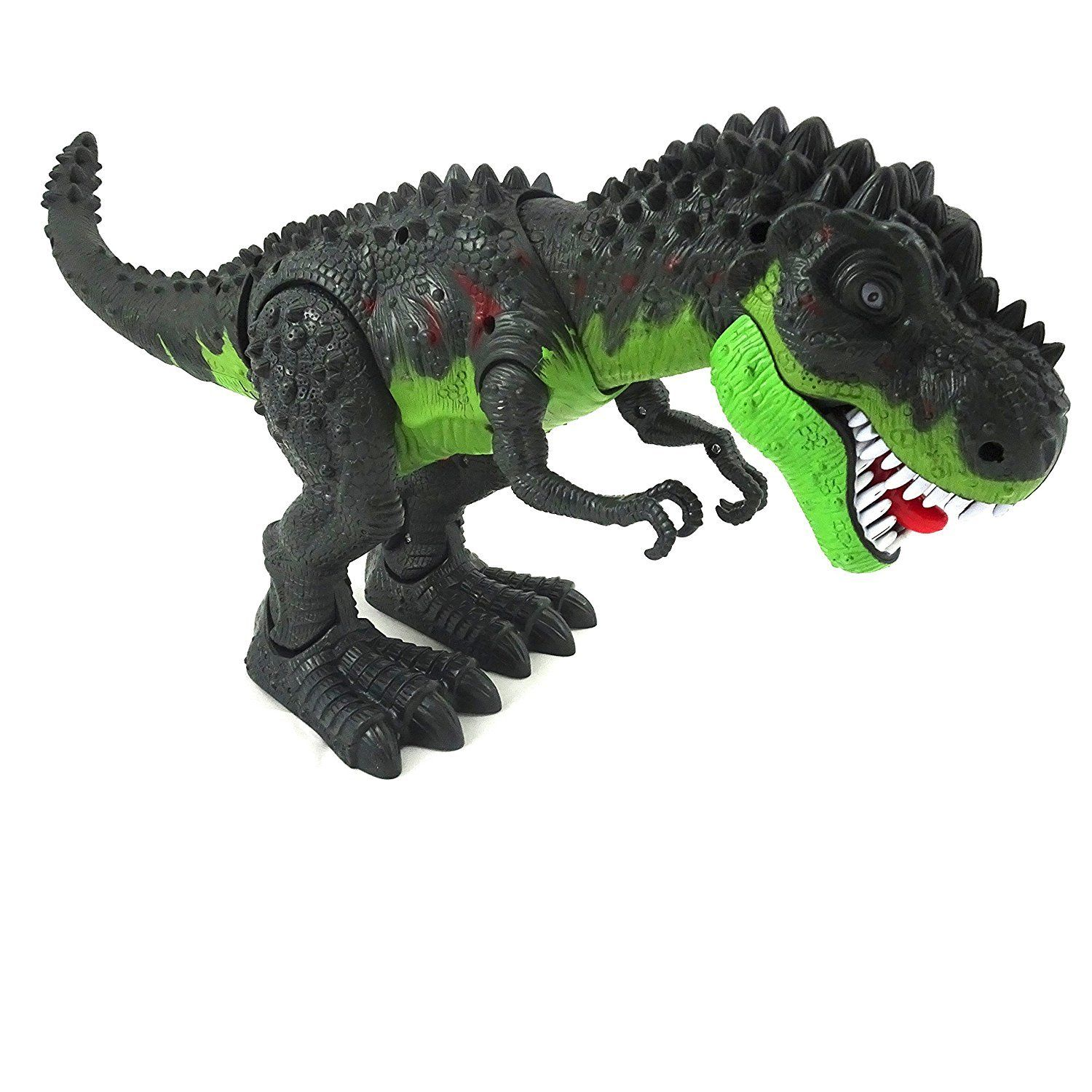 B O Dinosaur Toy From Jurassic Period Tyrannosaurus Rex T-Rex Walking & Lights(Color May Vary) by