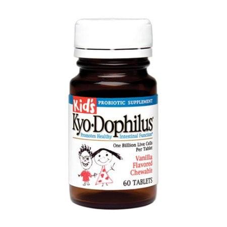 Kyolic Kid's Kyo-Dophilus, Tablets, Vanilla, 60 ea