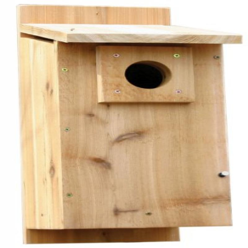 Stovall 2HW Basic Rustic Western Mountain BlueBirdhouse by Stovall Products
