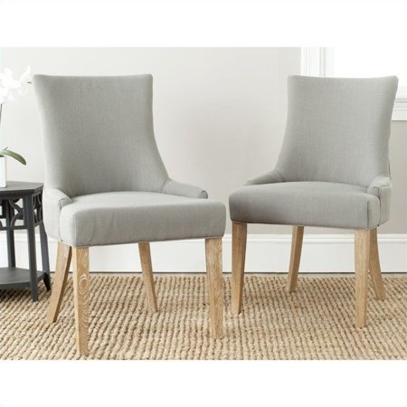 Safavieh Birch Lester Dining Chair in Granite (Set Of 2) - image 1 of 1