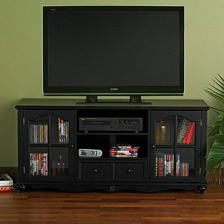 palisade antique black tv stand for tvs up to 50. Black Bedroom Furniture Sets. Home Design Ideas