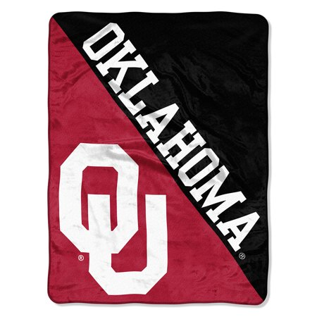 "NCAA Oklahoma Sooners ""Halftone"" 46""x 60"" Micro Raschel Throw"