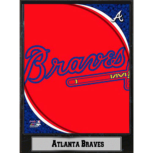 MLB Atlanta Braves Photo Plaque, 9x12