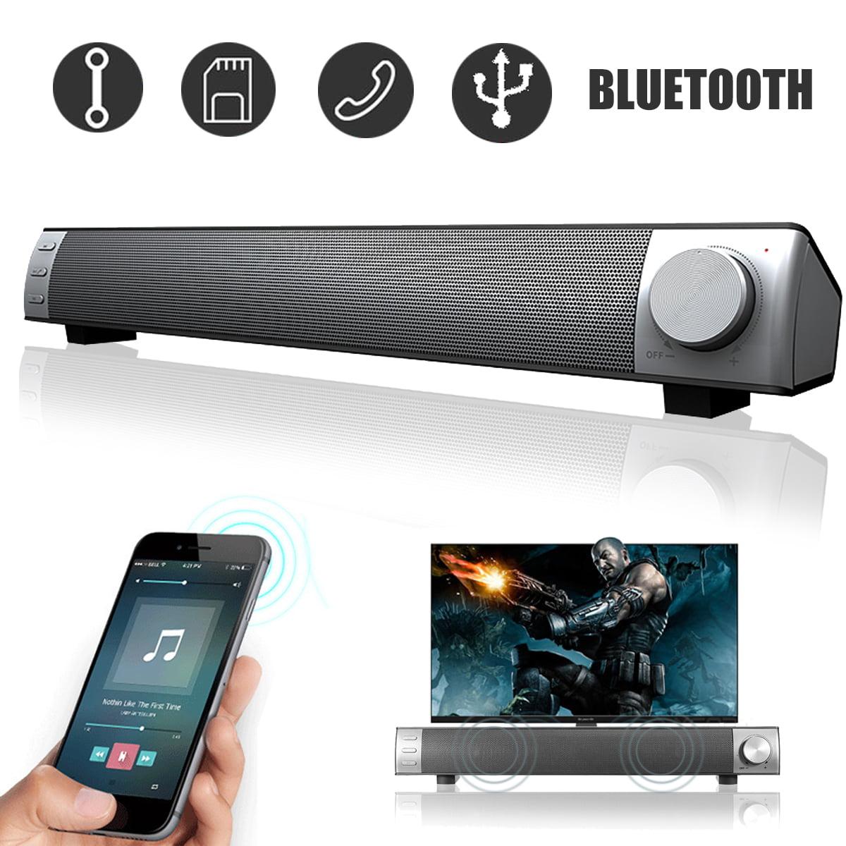 Home TV Theater 3D Surround Stereo Super Bass Sound Bar Wireless bluetooth 4.2 Speakers Music Player System Soundbar Amplifier Subwoofer