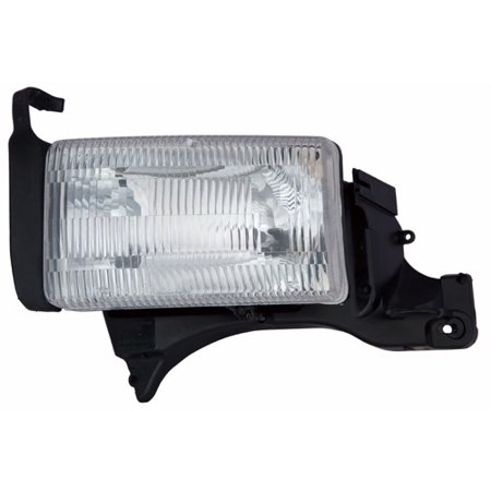 Go-Parts » 1994 - 2001 Dodge Ram 2500 Front Headlight Headlamp Assembly Front Housing / Lens / Cover - Left (Driver) Side 55054781AF CH2518108 Replacement For Dodge Ram 2500 2001 Drivers Side Headlamp