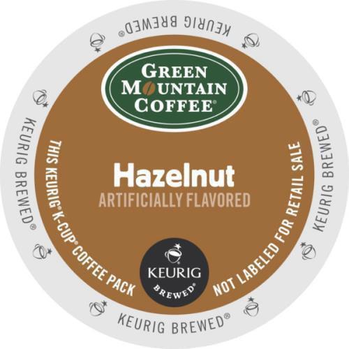 KEURIG Green Mountain Coffee Hazelnut Case Of 96