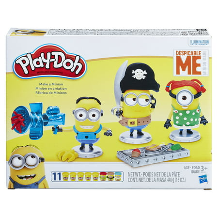 Play-Doh Despicable Me Minions Make A Minion Set with 11 Cans of - Dog Despicable Me
