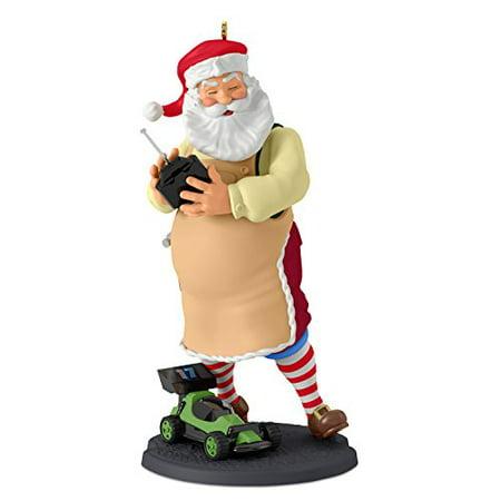 Hallmark Toymaker Santa #18 Radio Controlled Car Keepsake Christmas (Santa's Best Christmas Tree Remote Control)