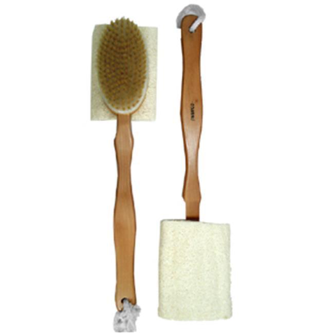 Swissco 12236 Double Sided Wooden Bath Brush