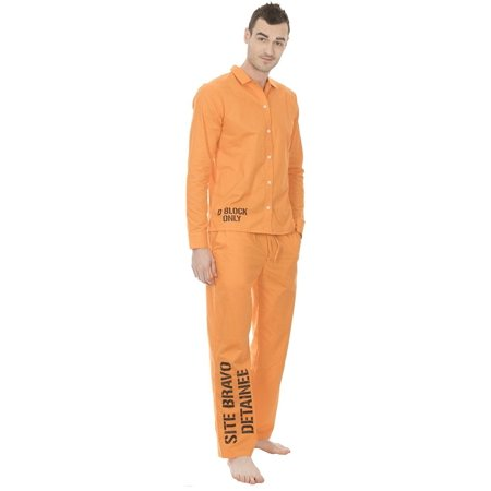 Suicide Squad Site Bravo Detainee 2 piece Mens Costume (Spencer's Store Halloween Costumes)
