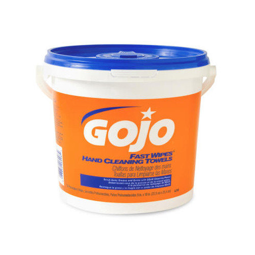Gojo Fast Wipes Hand Cleaning Towels Bucket