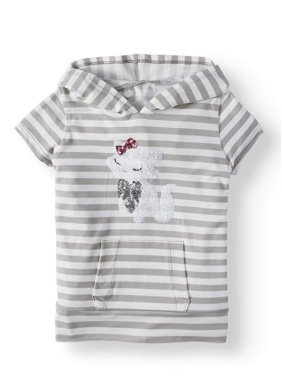 dc4b3e921 Off-White Little Girls Tops   T-Shirts - Walmart.com