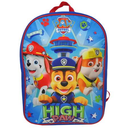 Boys Paw Patrol High Paw Backpack 15