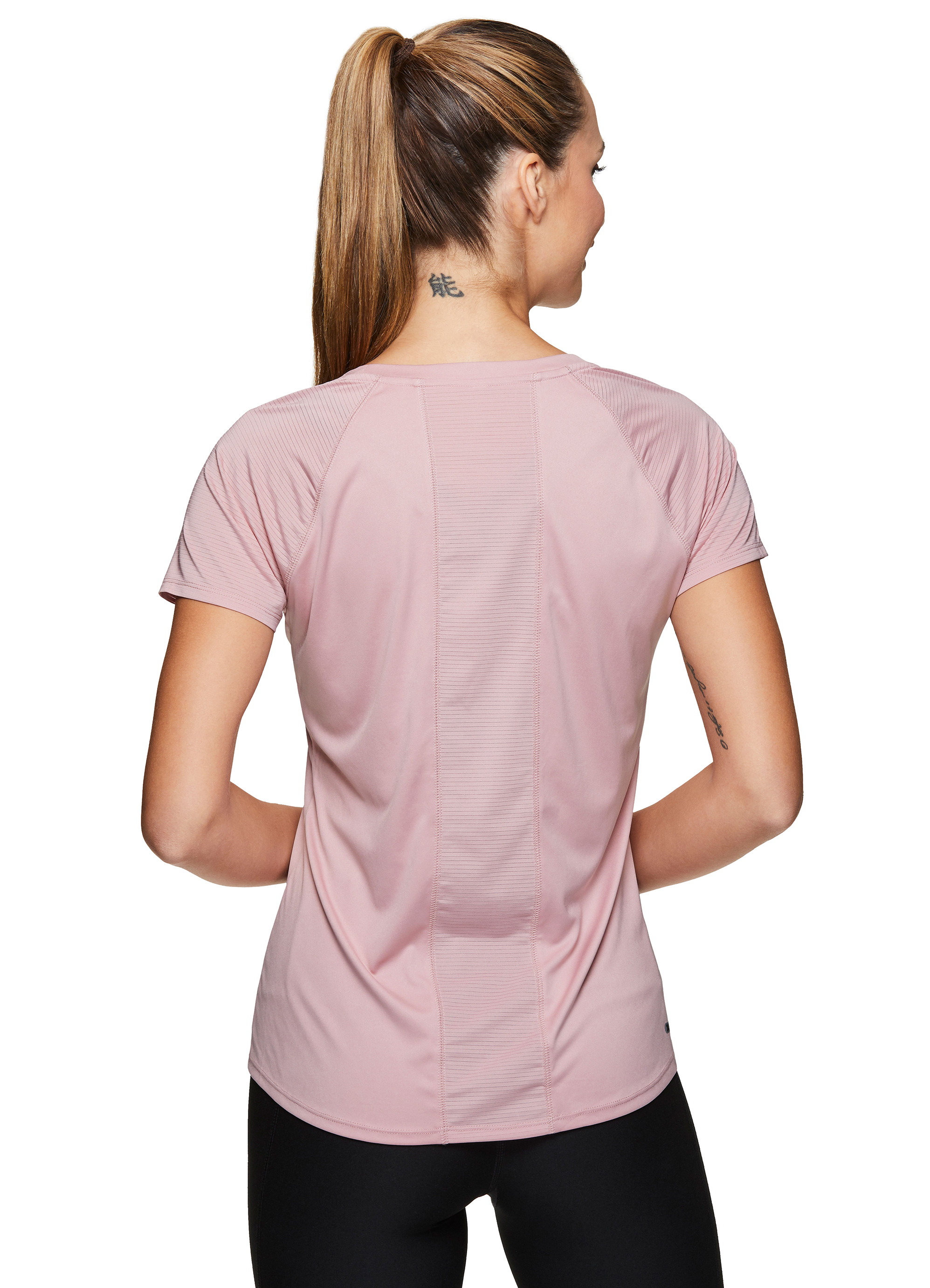 RBX Active Mens Athletic Performance Gym Workout Ventilated Mesh Short Sleeve Crewneck T-Shirt