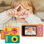 Luxtrada Full Color Mini Digital Camera for Children Kids Baby Cute Camcorder Video Child Cam Recorder Digital Camcorders (Color #C)