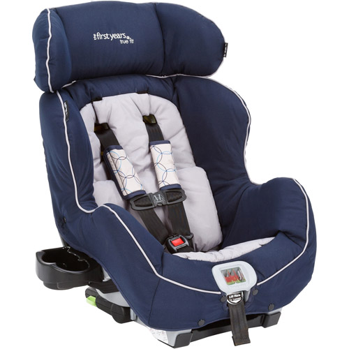 The First Years - True Fit Convertible Car Seat, Spiro, Navy and Gray