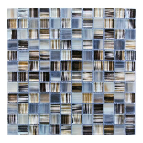 "Miseno MT-CRAFTSHIP1SQ Craftship - 1"" X 1"" - Glass Visual - Wall Tile (Sold by Sheet)"