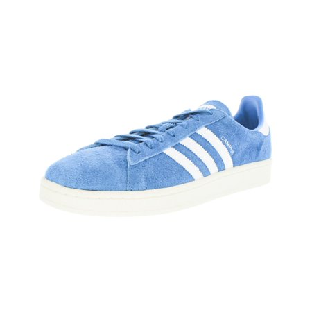 Adidas Men's Campus Stich And Turn Aqua / Footwear White Classic Ankle-High Leather Fashion Sneaker - 8M