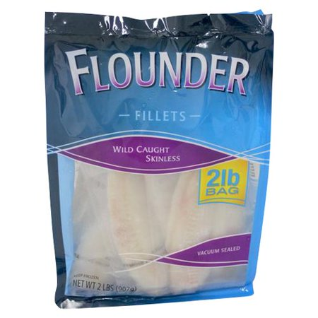 Flounder fillets 2 lb for Whiting fish at walmart