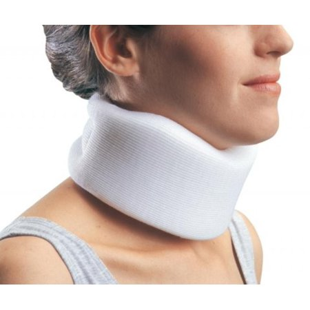 """ProCare Universal Clinic Cervical Collar (2.5"""" x 24""""), Medium density foam collar helps support cervical spine in neutral position By ProCare Braces"""
