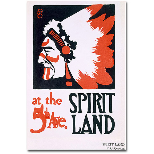 "Trademark Art ""Spirit Land"" Canvas Wall Art by FG Cooper"