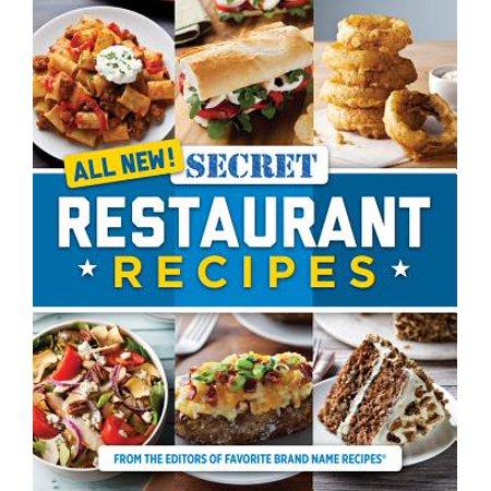 All New Secret Restaurant Recipes - All Recipes Halloween Punch