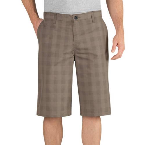 "Genuine Dickies Men's 13"" Shadow Plaid Short"