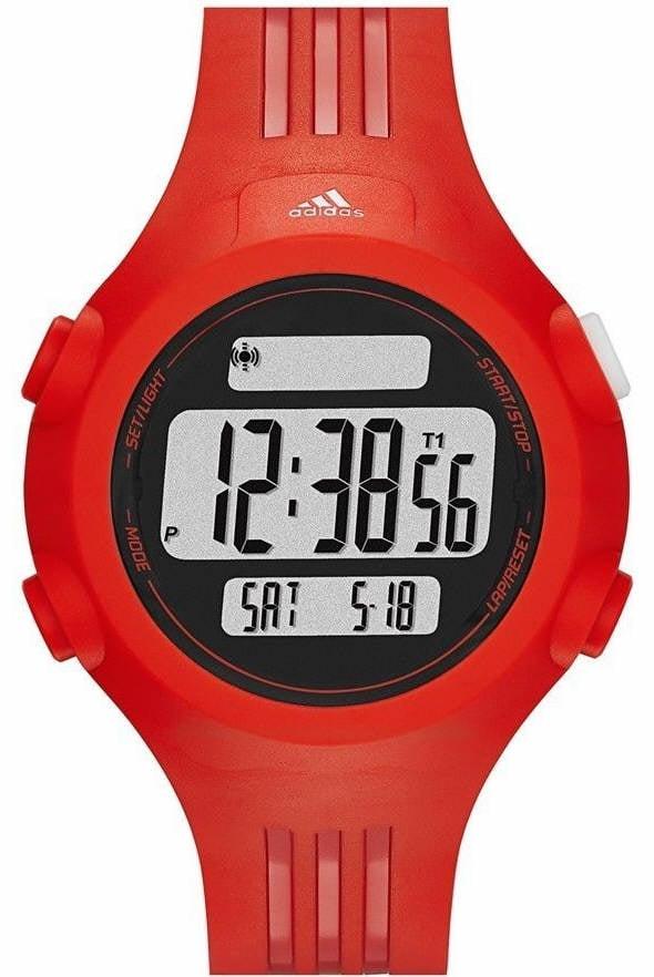 Unisex Red Adidas Questra Performance Digital Watch ADP6088 by Adidas