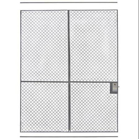 Wireway husky w5406000 10000 wire partition sliding door for 10 foot sliding door