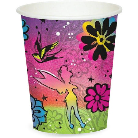 Disney Tinker Bell 9 oz Paper (Bluebell Cup)