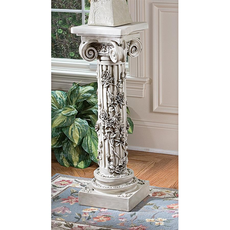 The Rose Garland Sculptural Pedestal