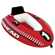 Airhead Mach 1 Single Rider Inflatable Boat Lake Water Towable Tube