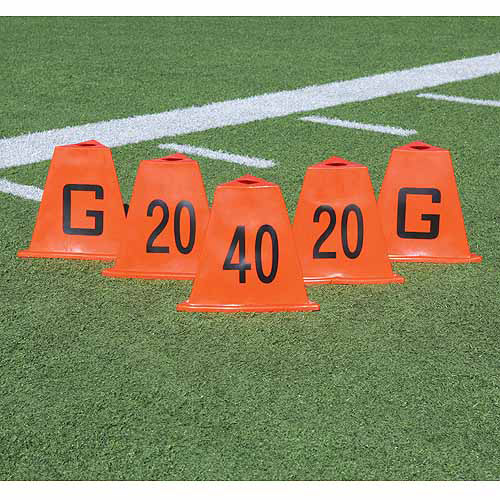 BSN Sports Flag Football Stackable Sideline Markers