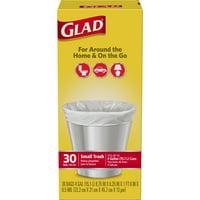 Glad Small Trash Bags - 4 gal - 30 ct